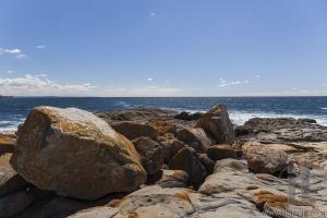 Coastline landscape. Bingie (near Morua) . NSW. Australia