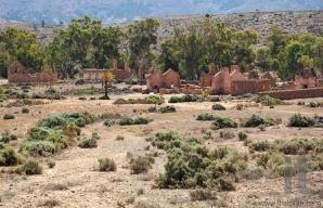Ruins of abandon Kanyaka homestead. Flinders Ranges. South Australia.