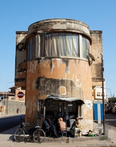 Architecture. Asmara. Eritrea. Africa.
