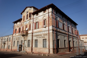 Commercial Bank of Eritrea. Asmara. Eritrea. Africa.