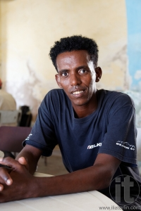 Portrait of a man. Massawa. Eritrea. Africa.