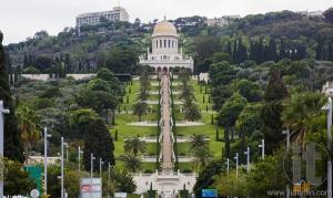 Bahai Gardens. Haifa. Israel