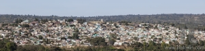 Panoramic bird eye view of ancient walled city of Jugol. Harar.