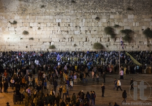 Shabbat at Kotel (Western Wall). Jerusalem. Israel.