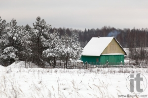 Village in Smolensk region. Russia