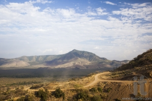African landscape. Mago National Park. Ethiopia.