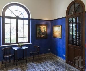 Reception room. Bet Bialik House museum. Tel Aviv, Israel.