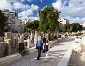 Trumpeldor Cemetery. Tel Aviv. Israel.
