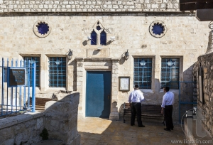 Ashkenazi synagogue before Shabbat. Tzfat (Safed). Israel